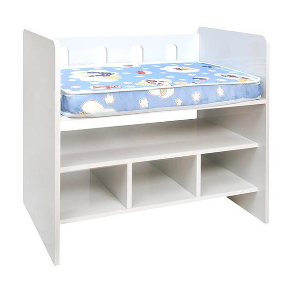 Cuna colecho madera con colchón blanca Kidscool - Kidscool » Babytuto