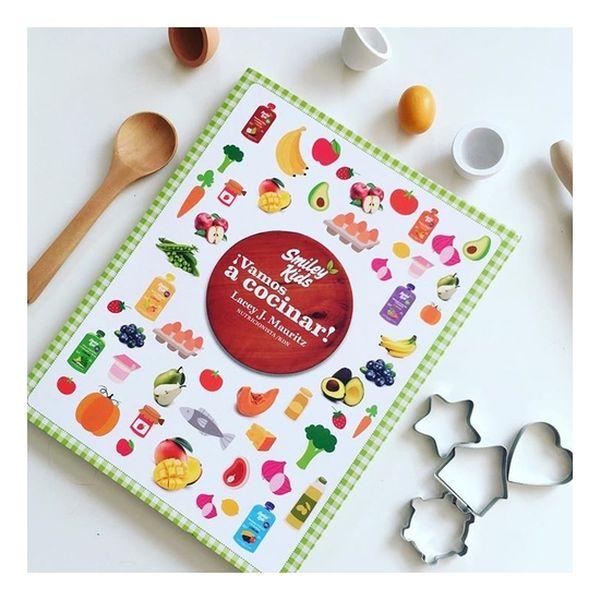 Libro de recetas ¡Vamos a Cocinar! Smiley Kids Smiley Kids - babytuto.com