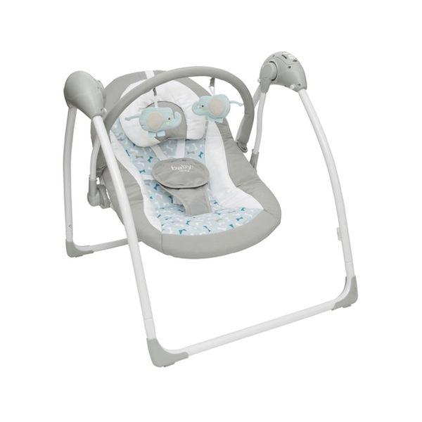 34176f7d4 Silla nido mecedora BW-710G18 gris Baby Way Baby Way - babytuto.com