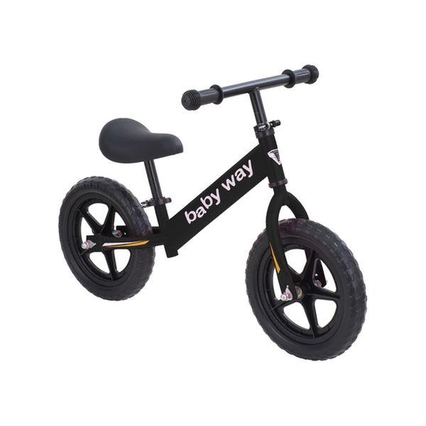 Bicicleta de equilibrio Negra Baby Way Baby Way - babytuto.com