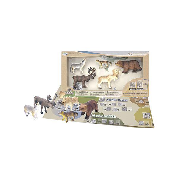 Set de animales salvaje. 5 unidades Wenno Wenno - babytuto.com