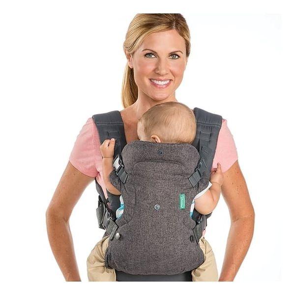 Porta bebé Flip 5204, Gris, Infantino Infantino - babytuto.com
