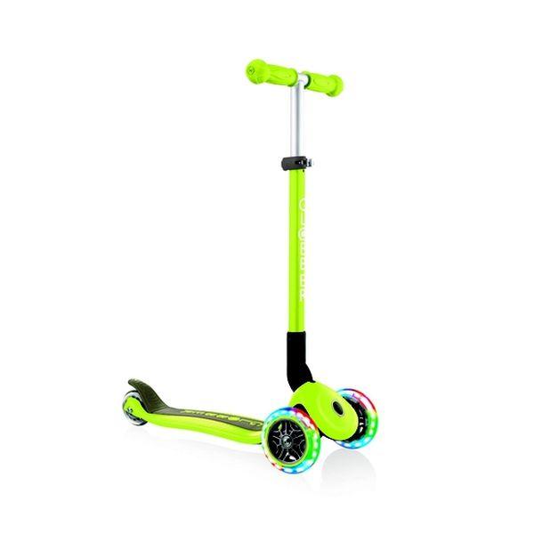 Scooter foldable, verde, Globber Globber - babytuto.com