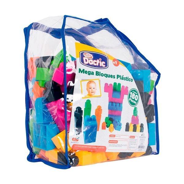 Mega bloque plástico 180 unidades Dactic Dactic - babytuto.com