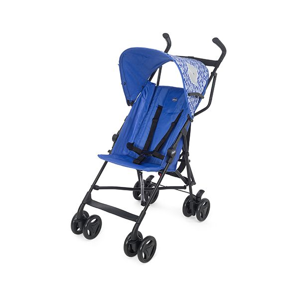 Coche Paragua Snappy Blue Whales Chicco Chicco - babytuto.com
