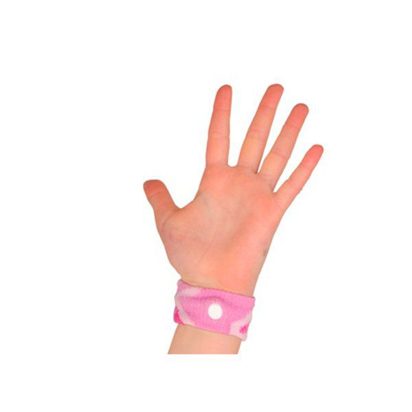 Pulseras anti-mareo niño rosado Sea-Band - babytuto.com