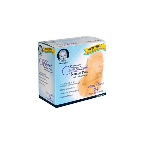 Absorbente De Leche Flujo Fuerte 24 Unidades, First Essentials  First Essentials  - babytuto.com
