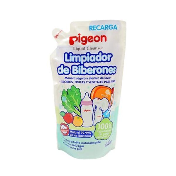 Limpiador de biberones recarga 650 ml Pigeon Pigeon - babytuto.com