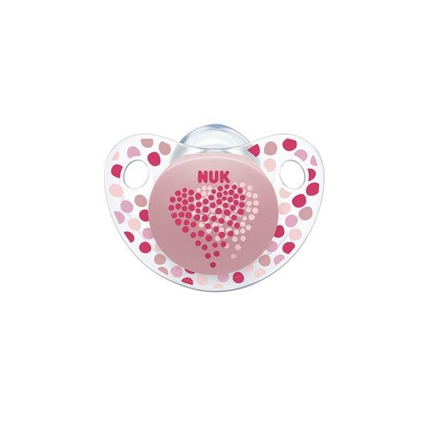 Chupete silicona corazones Nuk  NUK - babytuto.com