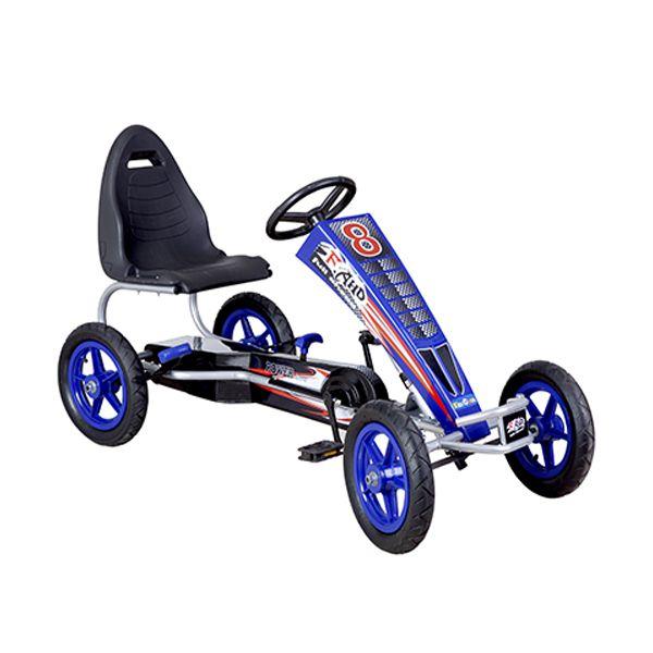 Go kart a pedales grande Azul Kidscool Kidscool - pulpotoys.com