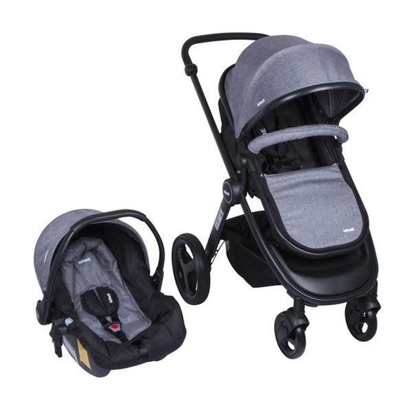 Coche Travel System Vibe, Gris, Infanti Infanti - babytuto.com