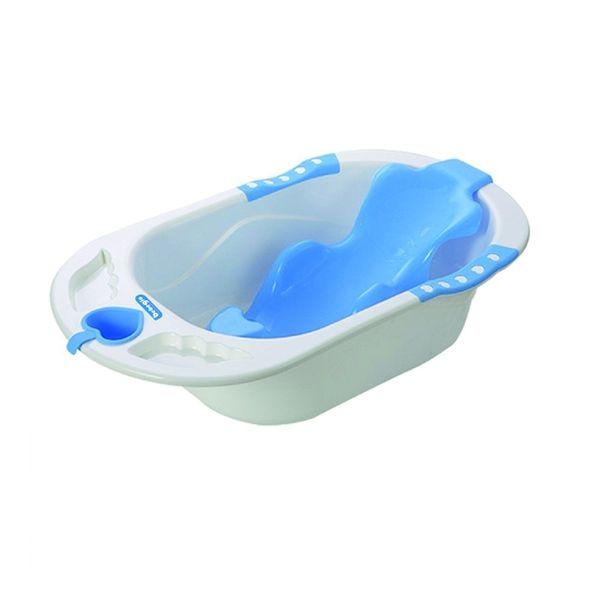 Bañera para bebé modelo rs-17820-1 celeste, Bebeglo Bebeglo - babytuto.com