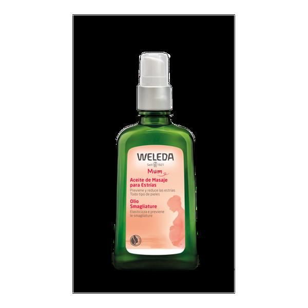 Aceite de masajes para estrías, 100 ml, Weleda Weleda - babytuto.com