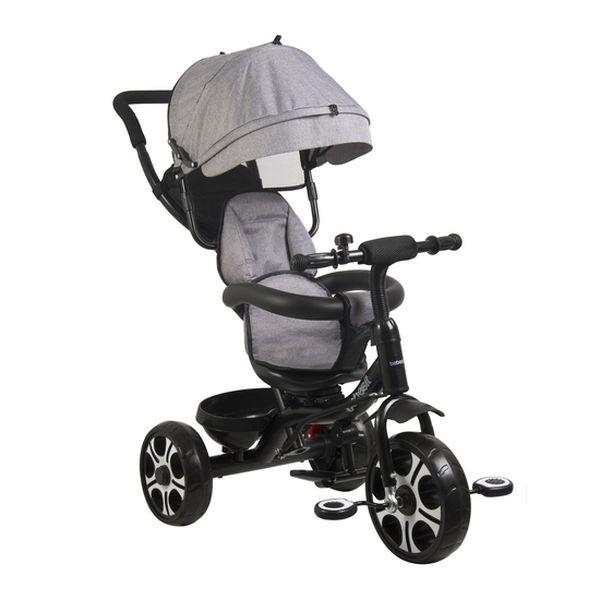 Triciclo 360 Gris Bebesit Bebesit - babytuto.com