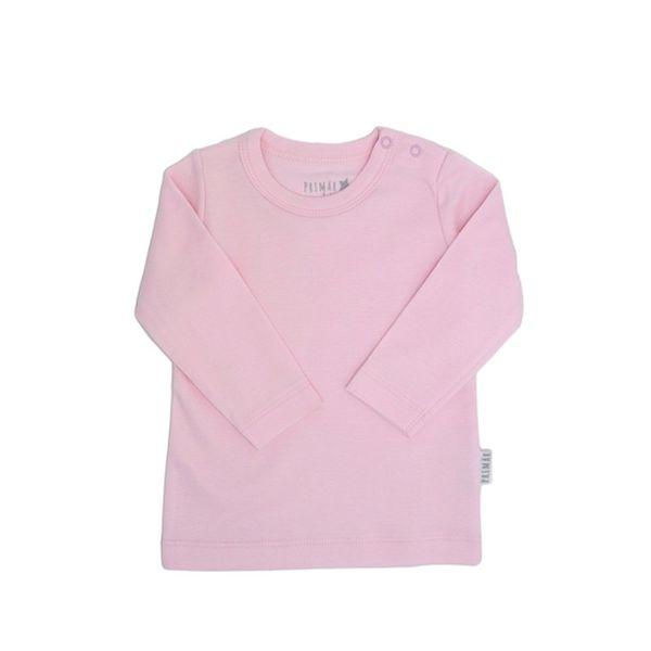 Camiseta cotton, rosado, Primär Primär - babytuto.com