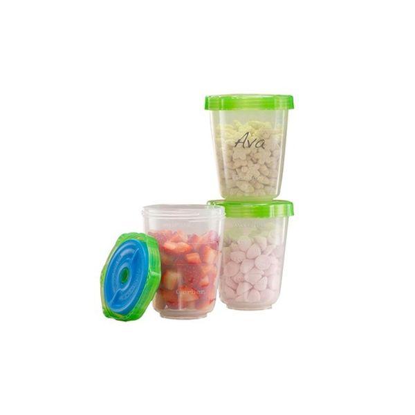 Porta Snack 3 Unidades, First Essentials  First Essentials  - babytuto.com