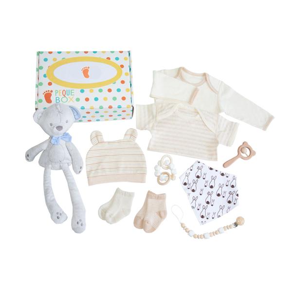 Set de bienvenida recién nacido oso, PequeBox PequeBox - babytuto.com
