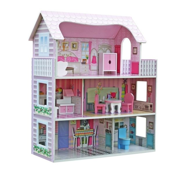Casa De Muñeca Monica Talbot Babytuto