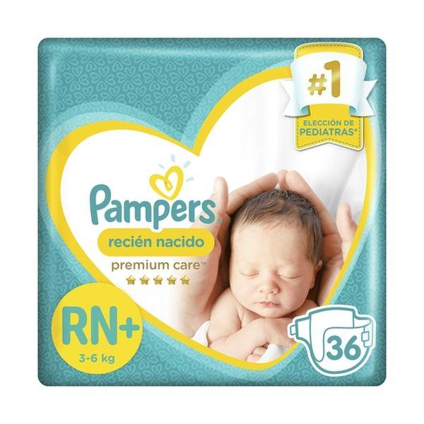 Pampers recién Nacido NB+ 36 unidades Pampers - babytuto.com