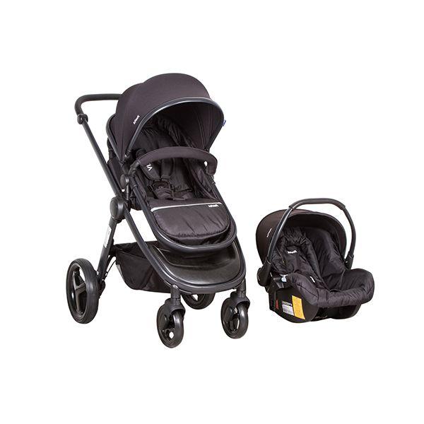 Coche travel system Vibe black Infanti Infanti - babytuto.com