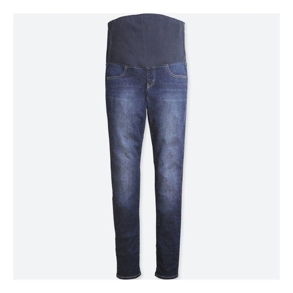 560e9953f Jeans maternales estilo prelavado Uniqlo Uniqlo - babytuto.com