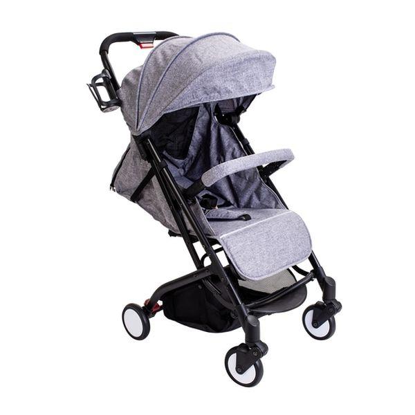 Coche compacto de paseo gris Kidscool Kidscool - babytuto.com