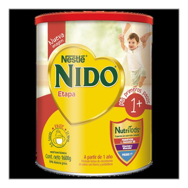 Leche en polvo NIDO® Etapa 1+ Protectus Avanzado Tarro 1600g Nestlé - babytuto.com