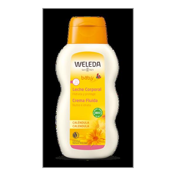 Leche corporal de caléndula, 200 ml, Weleda Weleda - babytuto.com