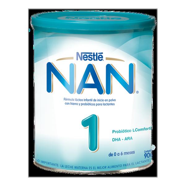 Nan 1 Comfortis - Leche de fórmula Nan 1 Comfortis. 900 g Nestlé - babytuto.com
