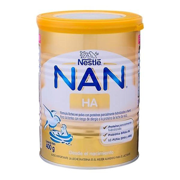 Leche de fórmula Nan H.A. 400 g Nestlé Nestlé - babytuto.com