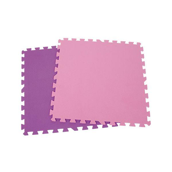 Alfombra de goma eva rosado 60 x 60 cm Dactic  Dactic - babytuto.com