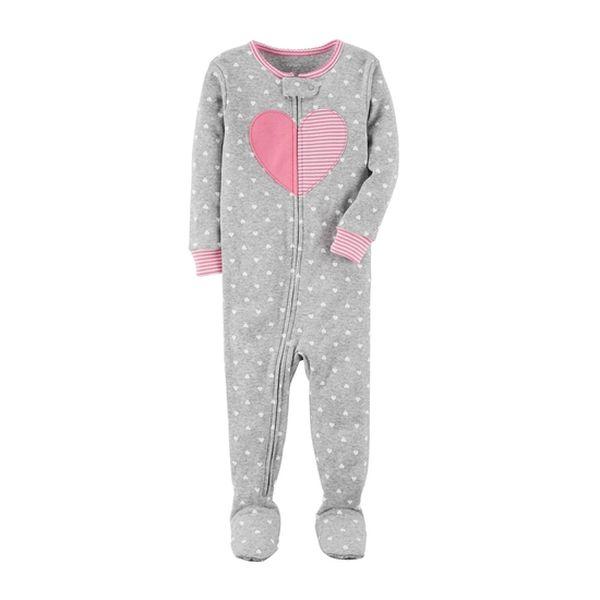 Pijama diseño corazones Carter's Carter's - babytuto.com