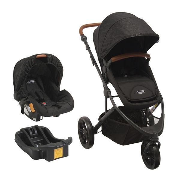 Coche Travel System Jogger Trek + Silla Huevo, Negro, Bebesit Bebesit - babytuto.com