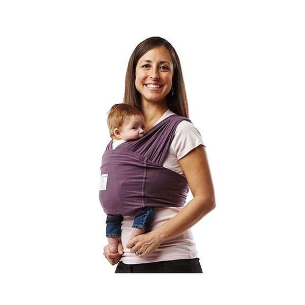 Portabebé sin amarras básico morado, talla L,  Baby K´Tan Baby K'tan - babytuto.com