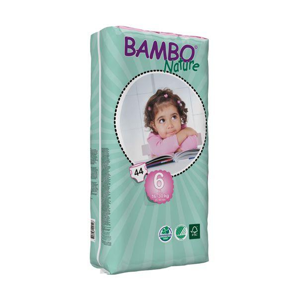 Pañales Desechables Bambo Nature Talla: XG (16 - 30 Kg) 44 uds Bambo Nature - babytuto.com