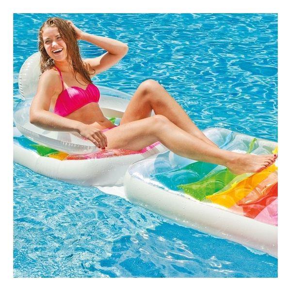 Silla flotador Folding lounge-chair Intex Intex - babytuto.com