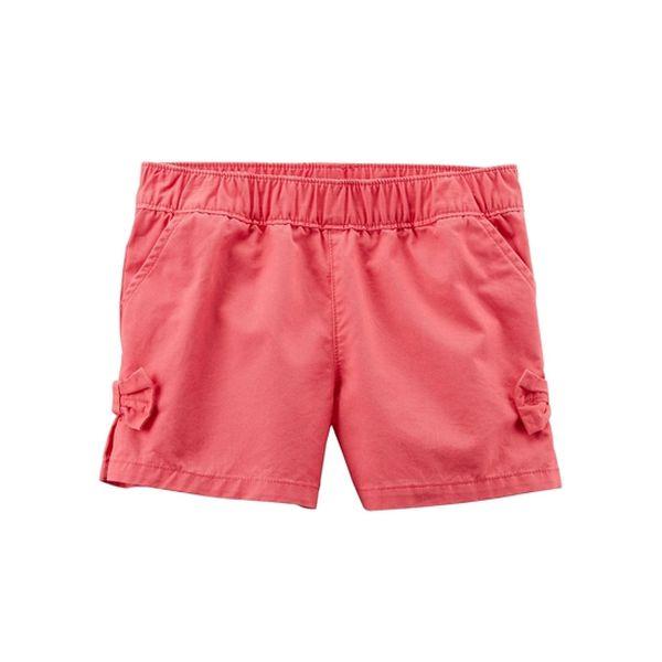 Shorts diseño lazo rosado 3 meses Carter's Carter's - babytuto.com