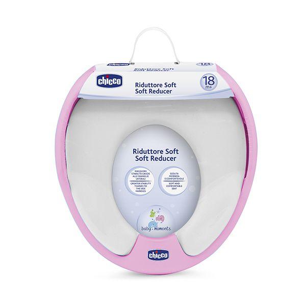 Entrenador suave para baño rosado Chicco Chicco - babytuto.com