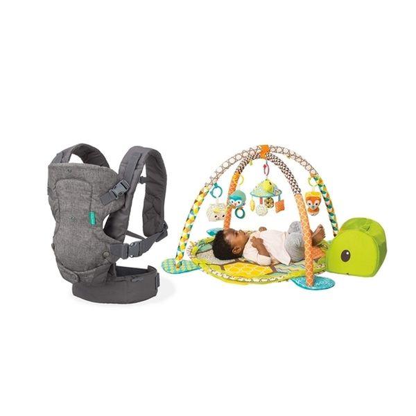 Pack portabebé y gimnasio crece conmigo Infantino Infantino - babytuto.com