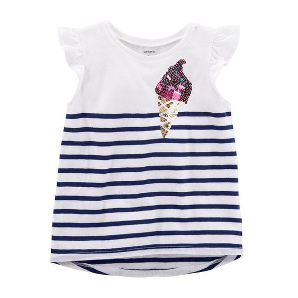 Polera diseño helado 3 meses Carter's Carter's - babytuto.com
