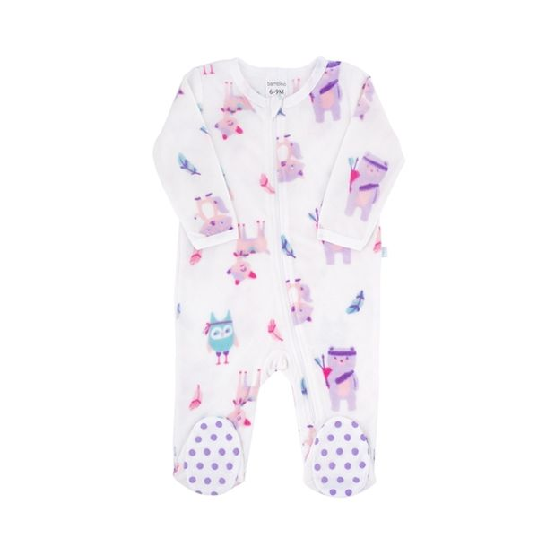 Pijama girl classic cute animals glowing, Bambino Bambino - babytuto.com