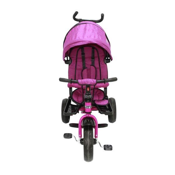 Triciclo Reversible Y Reclinable One Click, Fucsia,  Bebeglo Bebeglo - babytuto.com