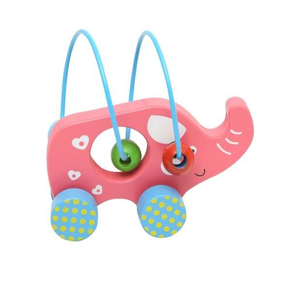 Juguete de madera elefante BW-JM07 Baby Way Baby Way - babytuto.com