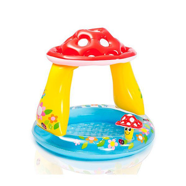 Piscina para bebé Mushroom Intex Intex - babytuto.com