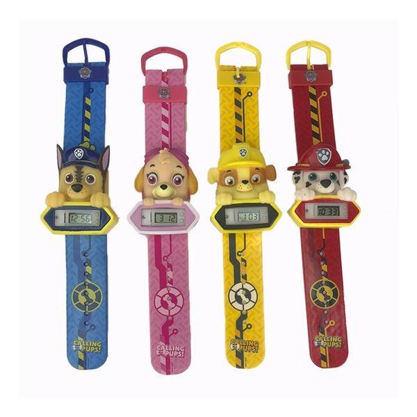 Set de 4 relojes patrulla canina, Paw Patrol  Paw Patrol - babytuto.com
