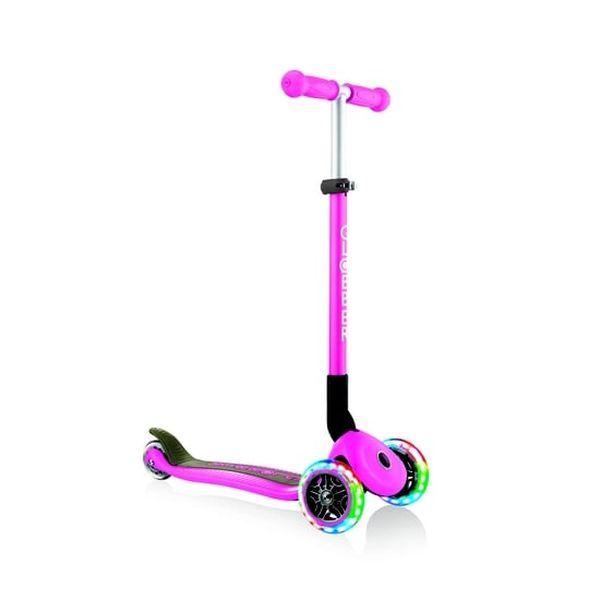 Scooter foldable, rosado, Globber Globber - babytuto.com