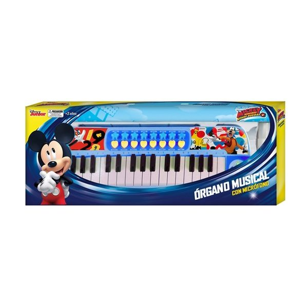 Órgano Con Micrófono Mickey  Disney Disney - babytuto.com