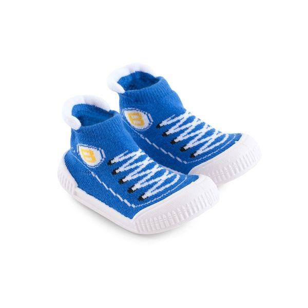 Calcetines patatillas urbana azul Bambino Bambino - babytuto.com
