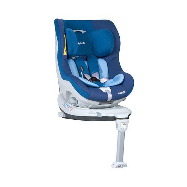 Silla de auto butaca i fix isofix blue infanti babytuto for Silla de auto infanti