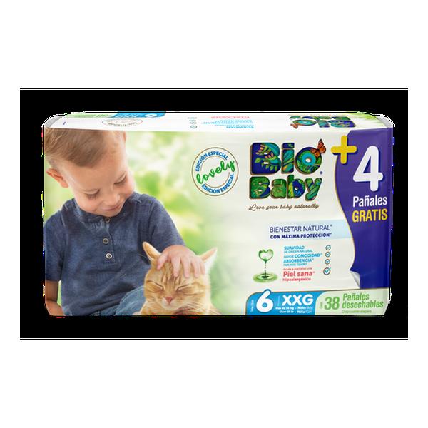 Pañal Ecológico XXG 38 uds Bio Baby Bio Baby - babytuto.com